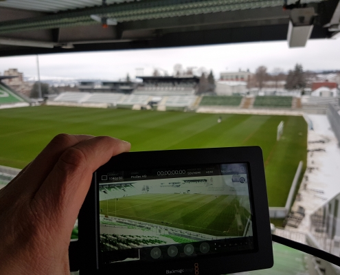 Ubitrack camera field of view