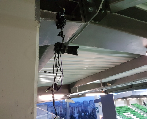 Camera at Ludogorets Arena