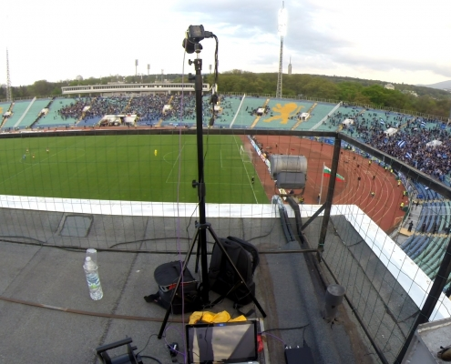 Camera set-up above Secor A
