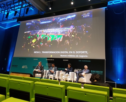 Stadium Digital Transformation roundtable at WFS18 Bilbao