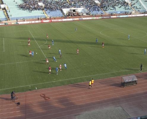 Image from the CSKA-Sofia - Levski match
