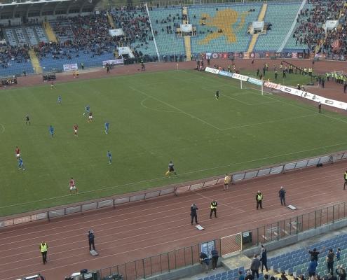 Match footage from CSKA-Sofia - Levski