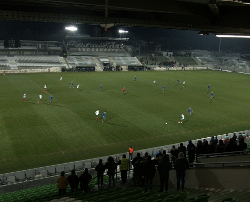 Camera FOV at Bulgaria - Bosnia&Herzegovina match