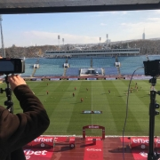 Camera setting before the match