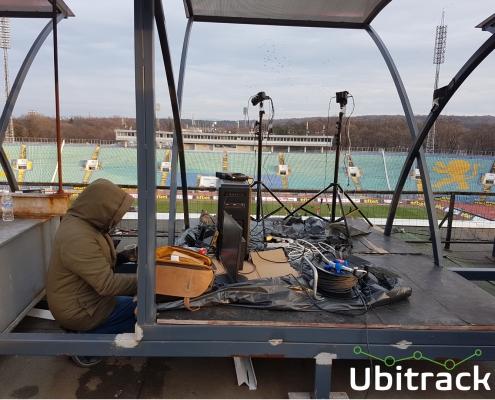 The whole test hardware set-up