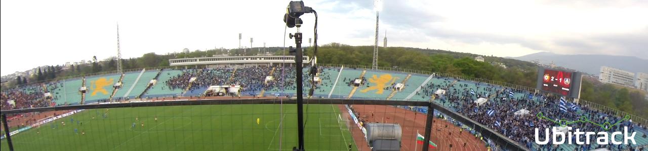 Ubitrack`s camera recording