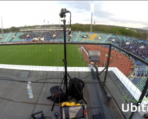 One of Ubitrack`s cameras