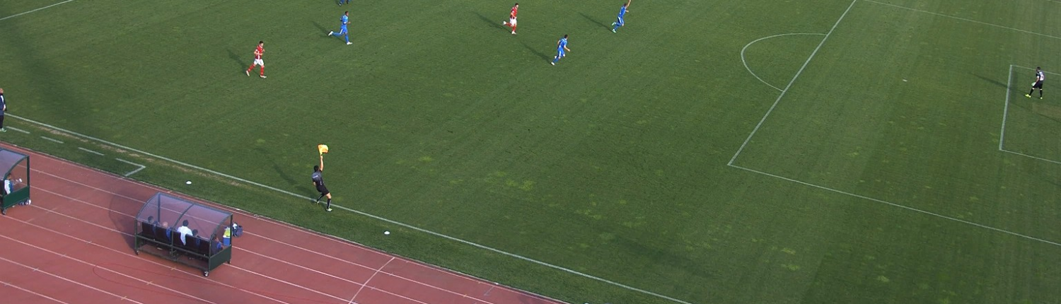 Off-side at the CSKA-Sofia vs Levski match