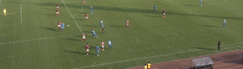 Levski attacking