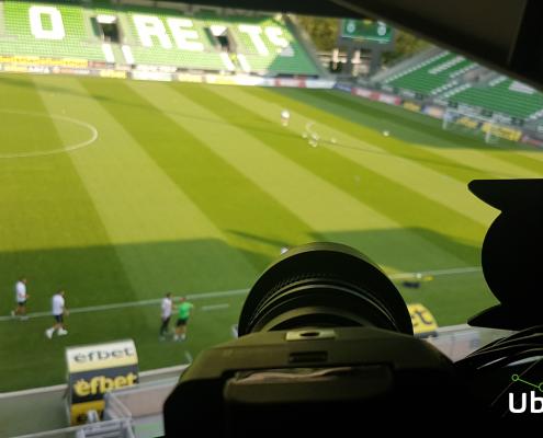Camera at Huvepharma Arena